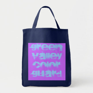 Green Valley Color Guard Grocery Tote Bag
