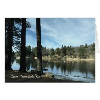 Green Valley Lake, Ca 2015 Greeting Card