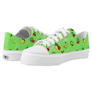 Green Veggies and Fruits Lemons and Limes Shoes