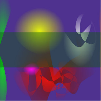 Green Veil Art Photo Cutout