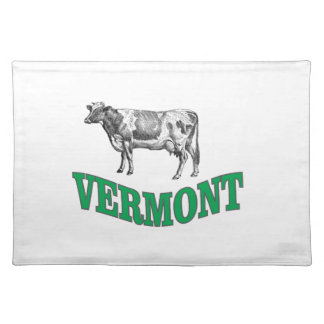 green vermont placemat