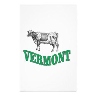 green vermont stationery