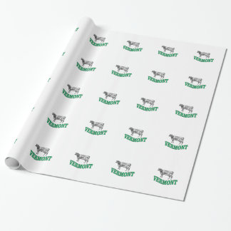 green vermont wrapping paper
