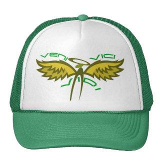 Green Version of Veni Vidi Vici Cap
