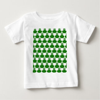 Green Victorian Lace Baby T-Shirt