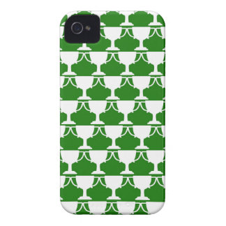 Green Victorian Lace iPhone 4 Cover