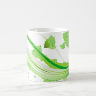 Green Vines and Leaves Classic Mug
