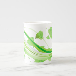 Green Vines and Leaves Specialty Mug