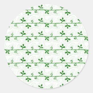 Green Vines Sticker