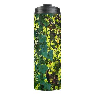 Green Vines Thermal Tumbler