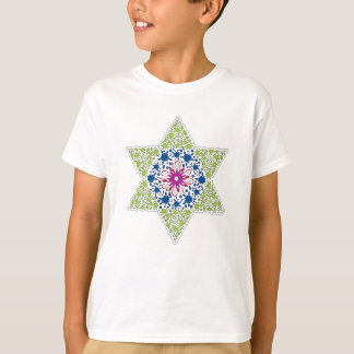 Green Vintage Star of David - Magen David T-Shirt