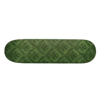 Green Vintage Wallpaper Skateboards