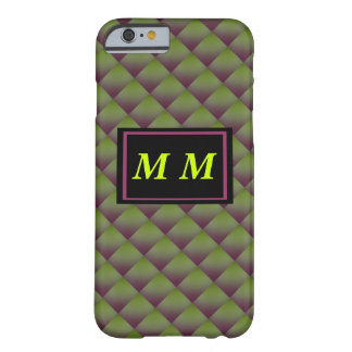 Green Violet Repeating Background Barely There iPhone 6 Case