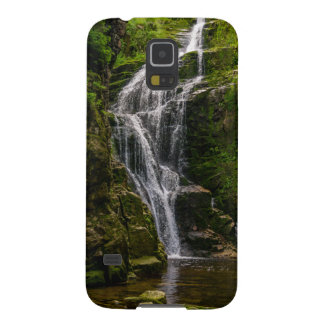 Green Waterfall Landscape Photo Galaxy S5 Cases