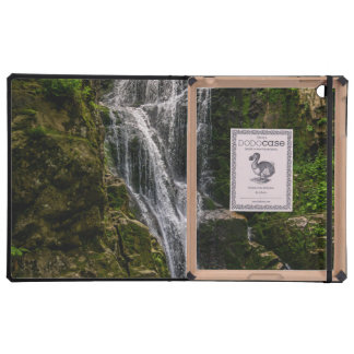 Green Waterfall Landscape Photo Cases For iPad