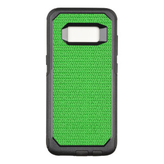 Green Weave Mesh Look OtterBox Commuter Samsung Galaxy S8 Case