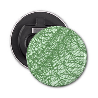 Green Webs Bottle Opener