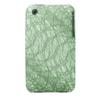 Green Webs iPhone 3 Case-Mate Cases