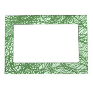 Green Webs Magnetic Frame