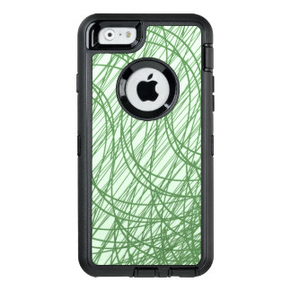 Green Webs OtterBox Defender iPhone Case