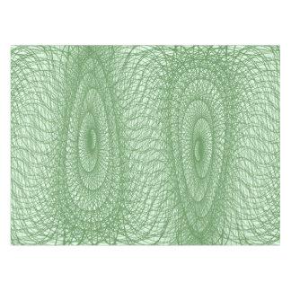 Green Webs Tablecloth
