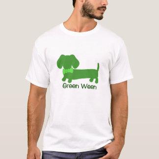Green Ween St Patrick's Day Dachshund Wiener Dog T-Shirt