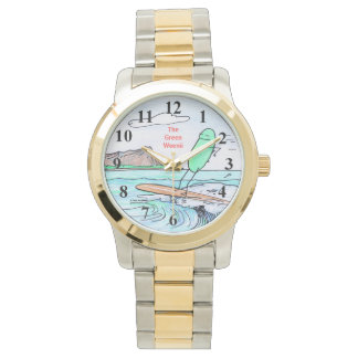 "Green Weenii ""Green Hawaii"" Wristwatch"