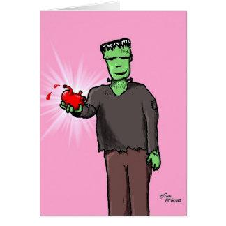 """Green Weenii """"Valenstein"""" Card"""