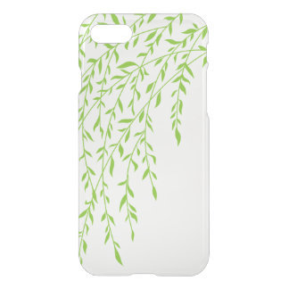Green Weeping Willow Branches Summer Leaves iPhone 7 Case