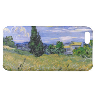 Green Wheat Field with Cypress by Van Gogh. iPhone 5C Cases