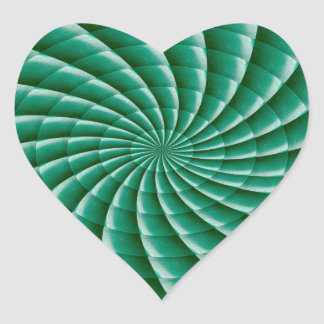 Green Wheel Chakra TEMPLATE add TEXT IMG customise Heart Sticker