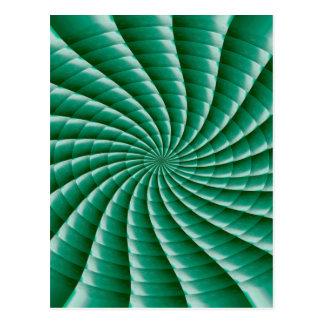 Green Wheel Chakra TEMPLATE add TEXT IMG customize Postcard
