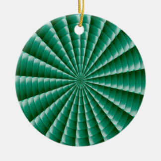 GREEN Wheel Chakra TEMPLATE add TXT IMG Customise Round Ceramic Decoration