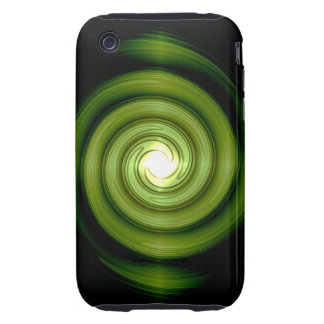 Green Whirlpool iPhone 3G 3GS Case-Mate Tough™ Cas iPhone 3 Tough Covers