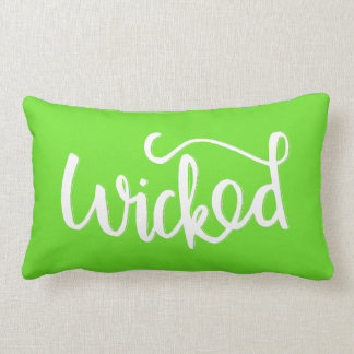 Green Wicked Pillow