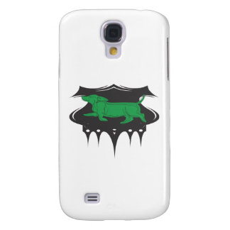 Green Wiener Samsung Galaxy S4 Cover
