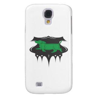 Green Wiener Samsung Galaxy S4 Cover