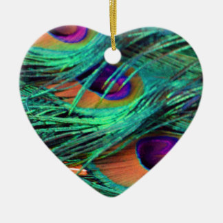 Green Willow Flumes Ceramic Heart Decoration