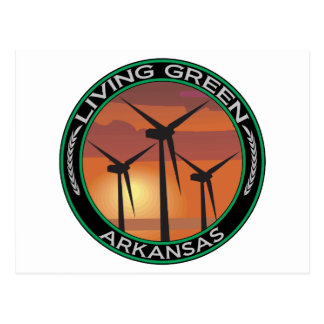 Green Wind Arkansas Postcard