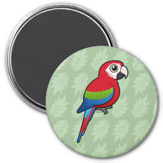 Green-winged Macaw Magnet