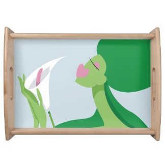 GREEN WITH ENVY SERVING TRAY