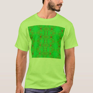 green with red lace T-Shirt