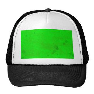 Green with water stains cap