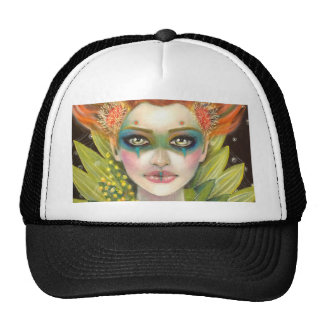 Green Woman Cap