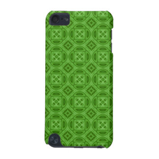 Green wood abstract pattern iPod touch (5th generation) cases