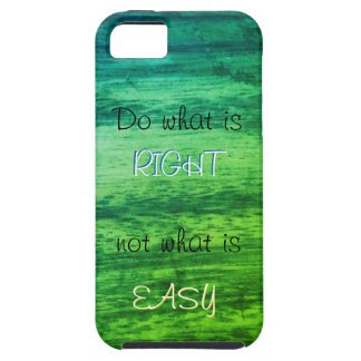 Green Wood Texture Tough iPhone 5 Case
