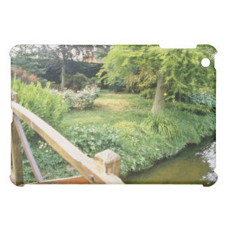 Green Wooden Bridge With View Of River And Garden Case For The iPad Mini