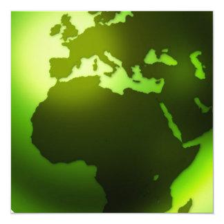 Green World Invitations