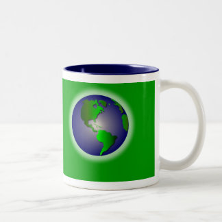Green World of Thanks Mug