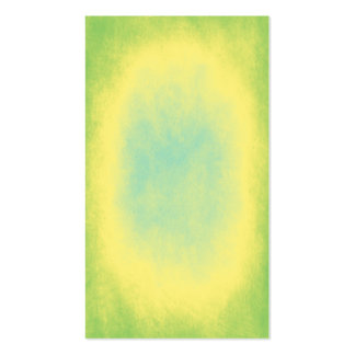 Green, yellow and blue abstract texture business cards